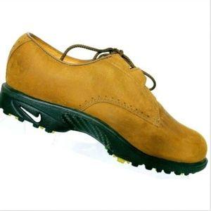 Nike Men's Air Zoom Gore-Tex Brown Golf Shoes 6